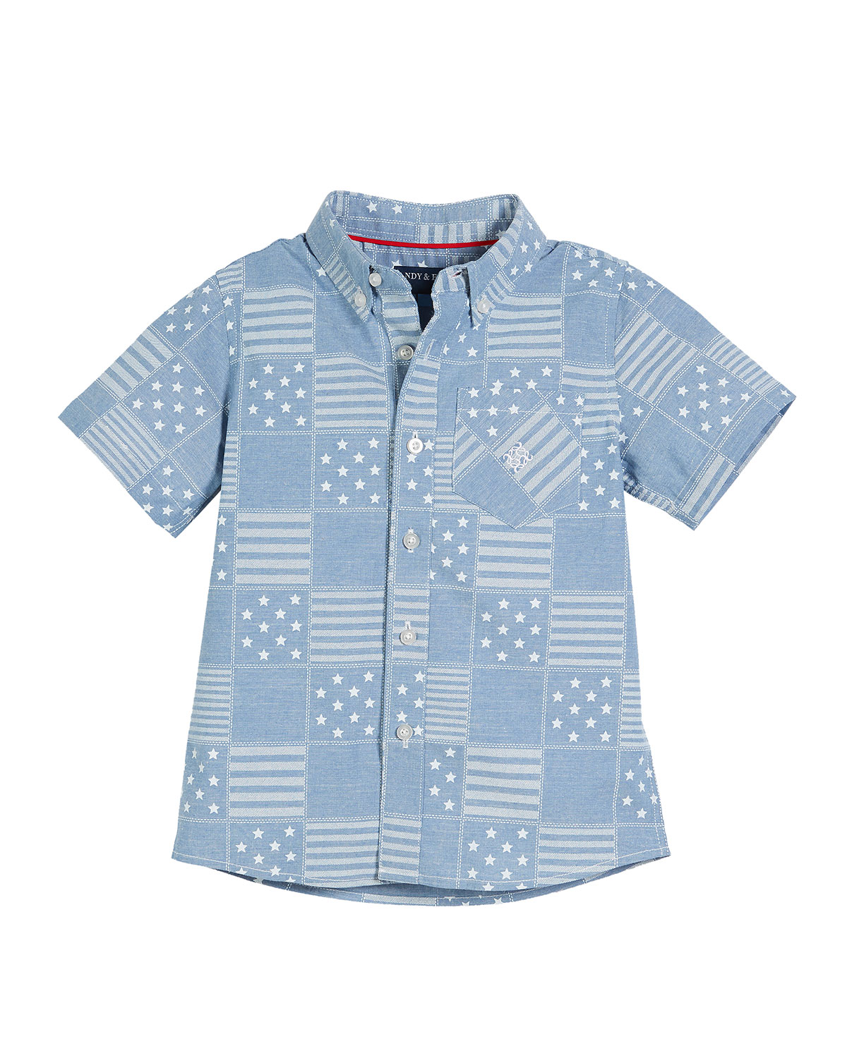 All American Patchwork Shirt, Size 2-7