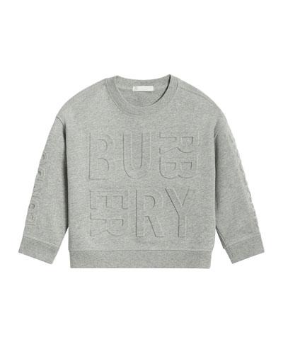 Hank Raised Logo Sweatshirt, Size 3-14