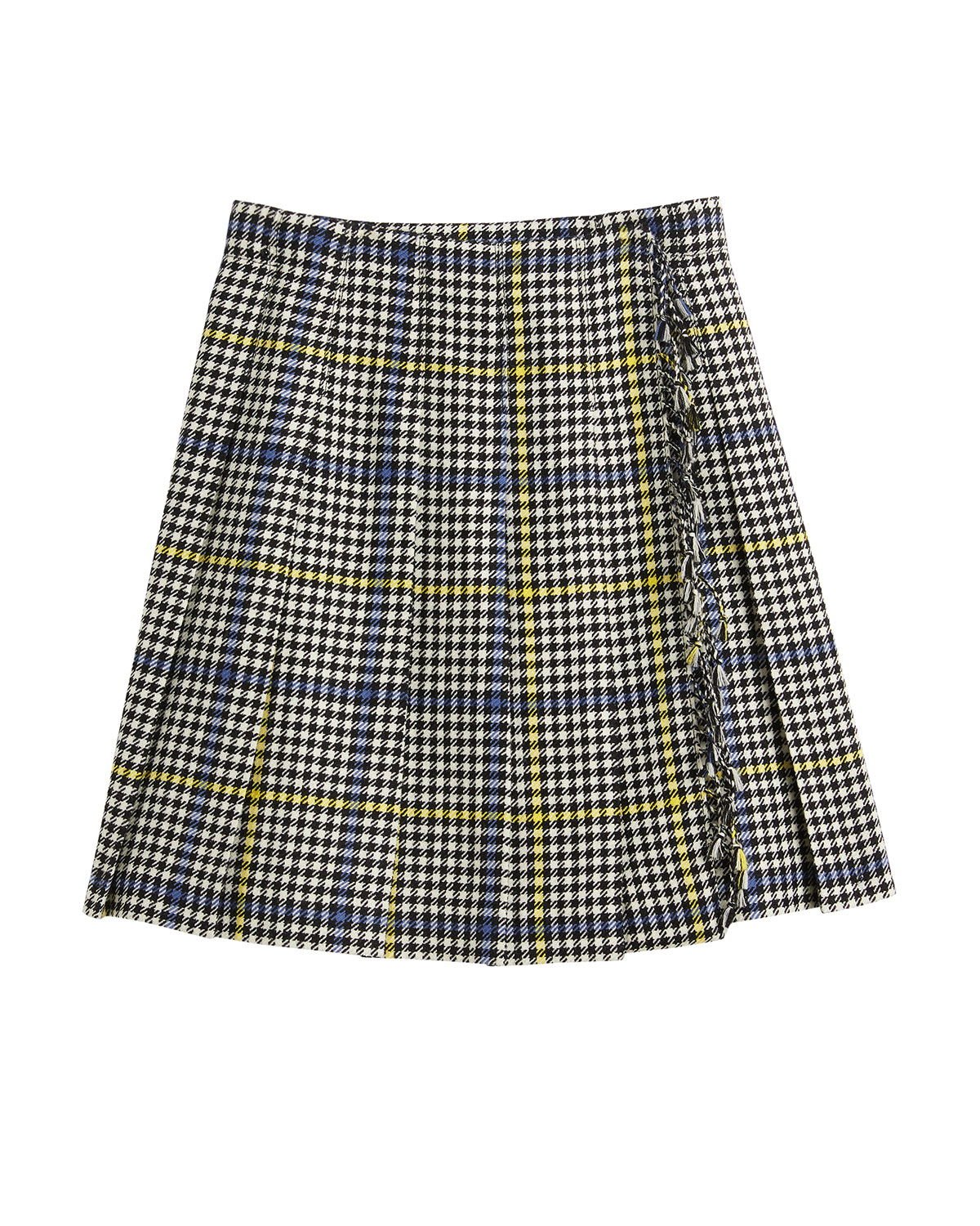 Burberry Skirts KLORRIAN WOOL HOUNDSTOOTH CHECK SKIRT