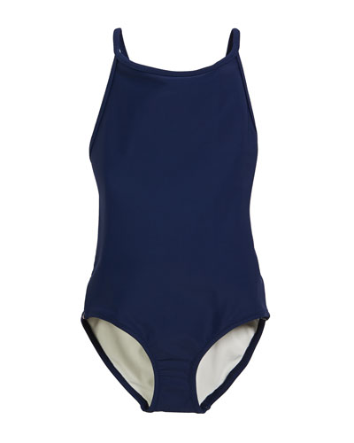 fa47c9870c0 Girls Burberry Swimsuit | Neiman Marcus