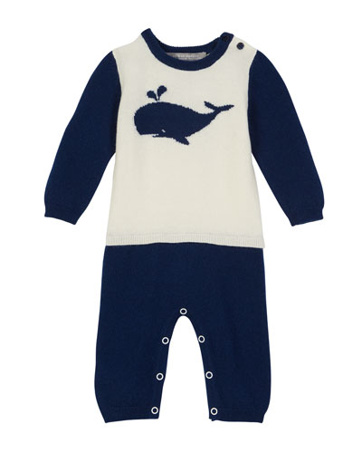 0a5fd287c50 Quick Look. Sofia Cashmere · Two-Tone Mock Outfit Whale Coverall
