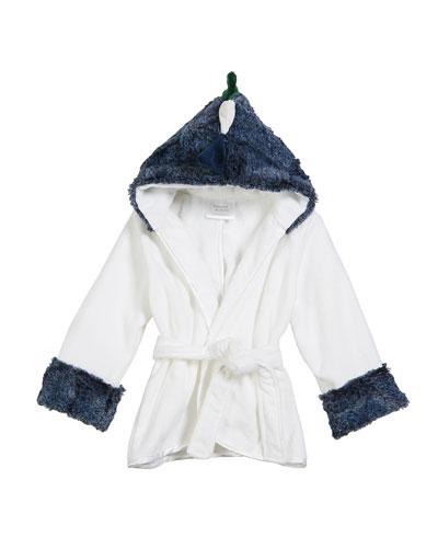 Baby Boys' Hooded Dinosaur Robe