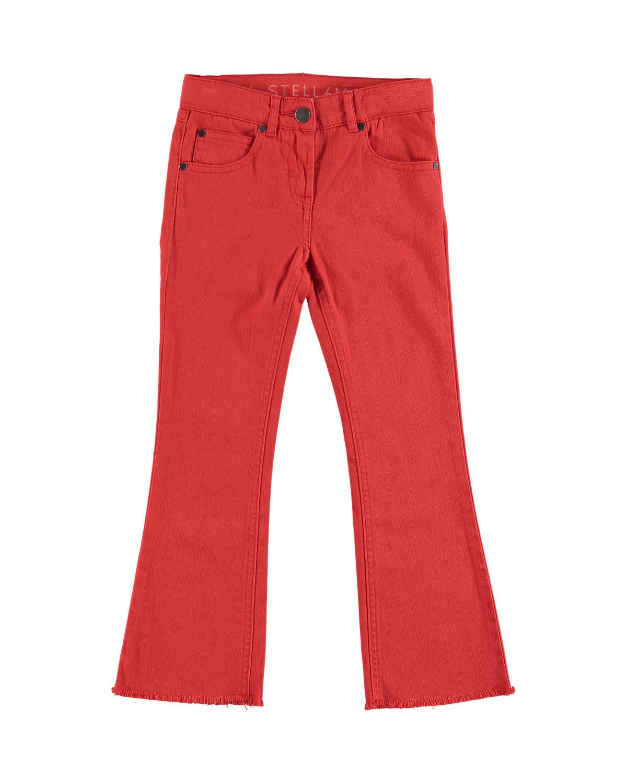Skinny Flare RawHem Denim Pants Size 414