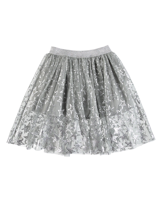 Metallic Stars ALine Skirt Size 414