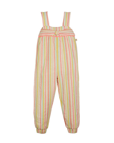 3087d8eff495 Quick Look. Billieblush · Striped Sleeveless Jumpsuit w  ...