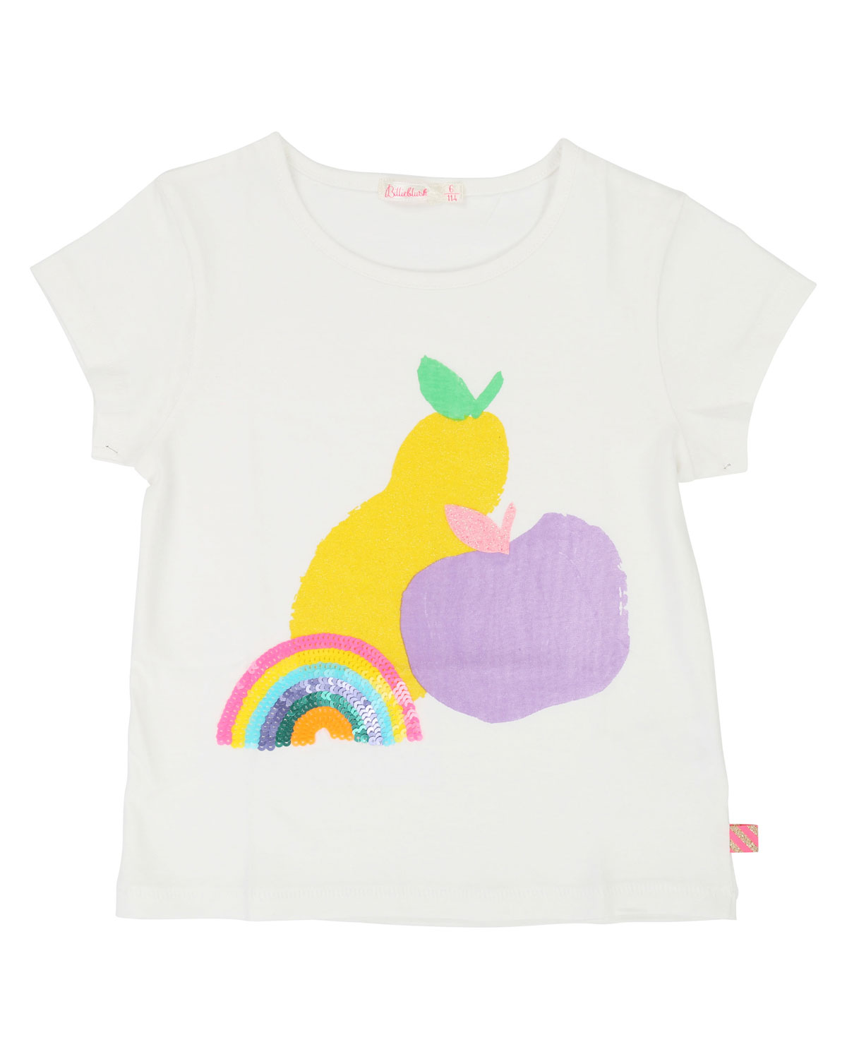 Billieblush RAINBOW & FRUIT SHORT-SLEEVE TEE