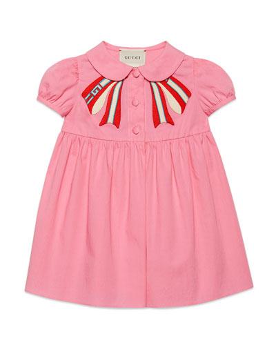 df2a5f3b7 Quick Look. Gucci · Peter Pan-Collar Dress ...