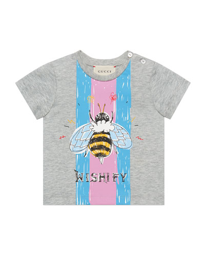Wishify Bumblebee Graphic T-Shirt, Size 9-36 Months