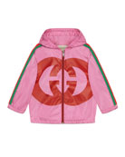 Gucci Parachute GG Jacket, Size 12-36 Months