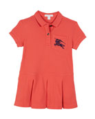 Burberry Demelza Knit Polo Dress, Size 3-14