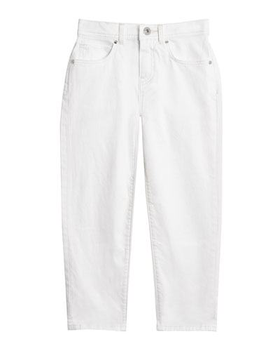 Relaxed Straight-Leg Jeans, Size 3-14