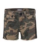 DL1961 Premium Denim Girls' Lucy G Camo Shorts,