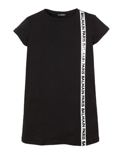 d8a9898490b4 Short Sleeve T Shirt Dress   Neiman Marcus