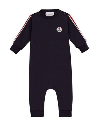 b73c0f40237 Quick Look. Moncler · Knit Logo-Arms Coverall