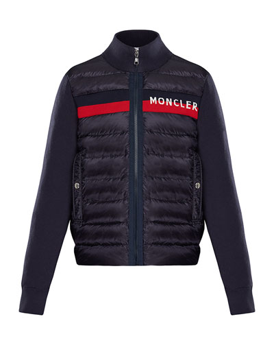 074e868aae7b Quick Look. Moncler · Quilted Zip-Front Jacket ...
