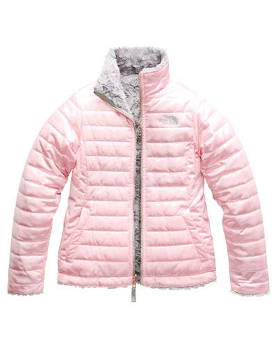 Reversible Mossbud Swirl Jacket, Size XXS-XL