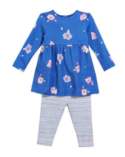 8094e2095c9 Blue Floral Dress