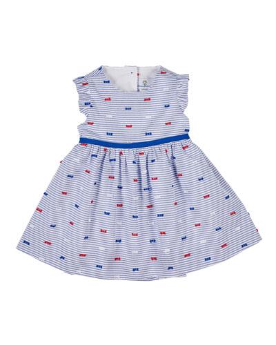 6ff977f873cb Blue Striped Dress