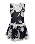 Helena Peony Embroidered Ruffle-Trim Dress & Matching Items