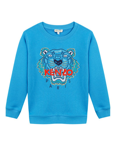 Signature Tiger Sweatshirt, Size 5-6