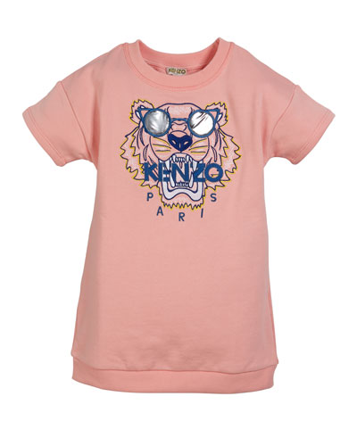 e46e1589103 Quick Look. Kenzo · Sunglasses Tiger Embroidered Sweatshirt Dress ...