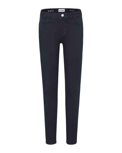 Girls' Skinny Finished Hem Pants, Size 7-16