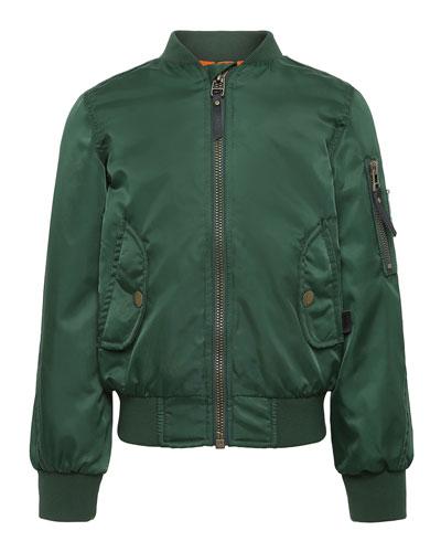 d1b1a0484b876 Long-sleeve Bomber Jacket | Neiman Marcus