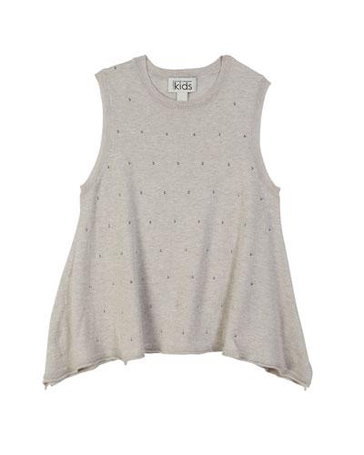 34da30374ccfea Quick Look. Autumn Cashmere · Studded Sleeveless Handkerchief Top ...