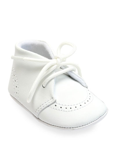 ddeeec1f20af Quick Look. L Amour Shoes · Benny Leather Brogue Oxford Crib Shoes