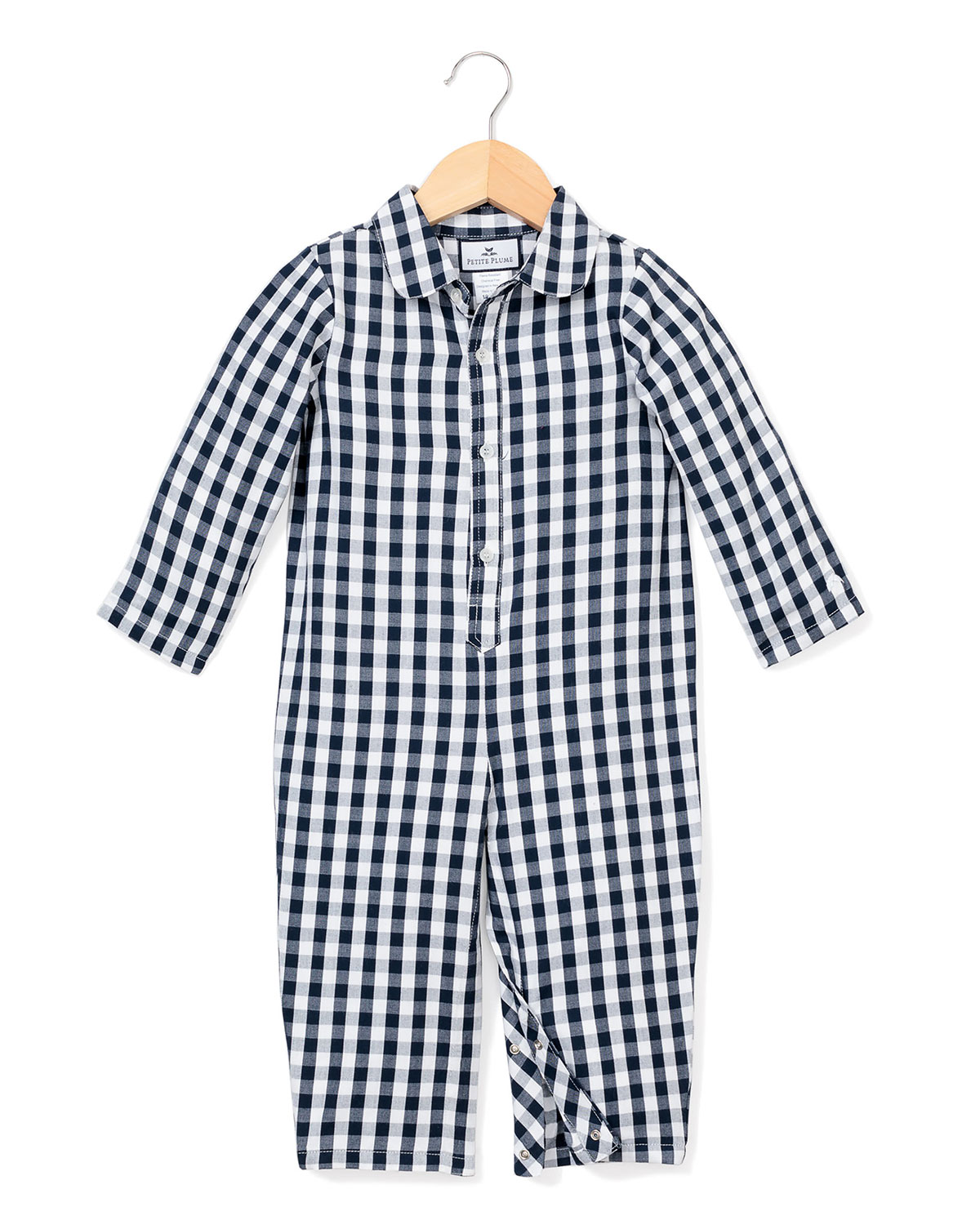 Petite Plume GINGHAM COVERALL