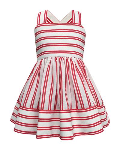 Striped Sun Dress, Size 2-4