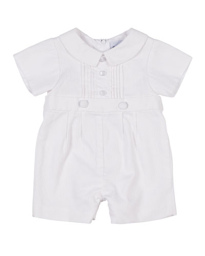 Tucked-Front Playsuit, Size 3-24 Months