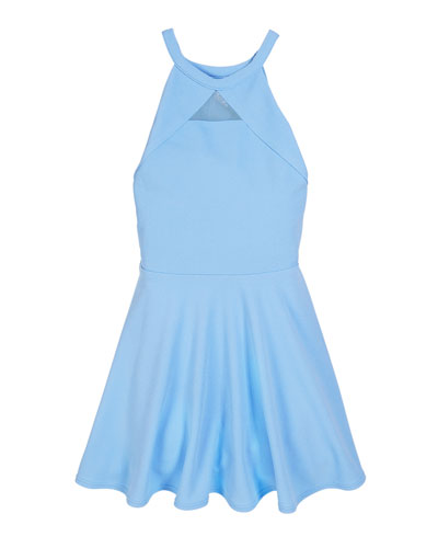 The Elise Halter Flare Dress, Size S-XL