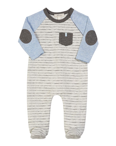 23cfa5721b8 Quick Look. Miniclasix · Colorblock Striped Footed Coverall