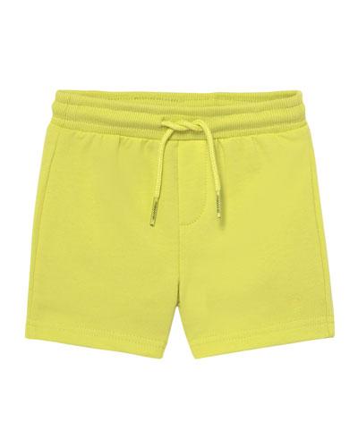 Basic Drawstring Fleece Shorts, Size 12-36 Months