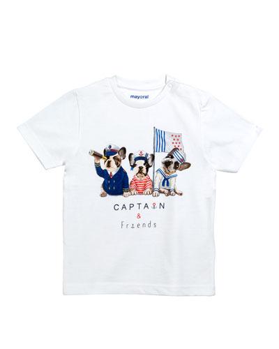 Sailor Bulldogs Graphic T-Shirt, Size 12-36 Months