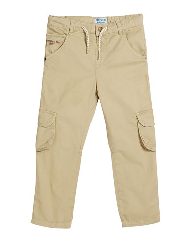Straight Leg Cargo Pants, Size 12-36 Months
