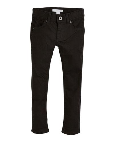 Black Skinny Jeans, Size 3-14