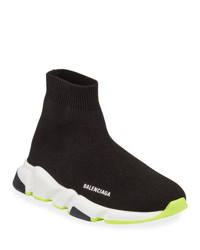 Speed Mid-Top Trainer Sock Sneakers, Toddler/Kids
