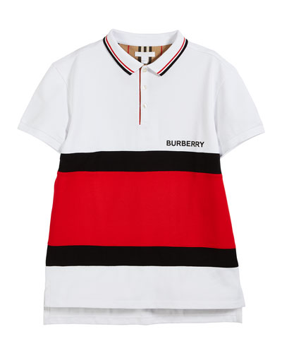 Gerard Colorblock Polo Shirt, Size 10-14