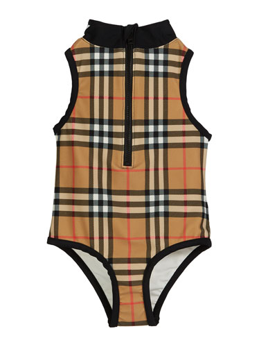 3c9b2521a5808 Quick Look. Burberry · Siera Check One-Piece Swimsuit ...