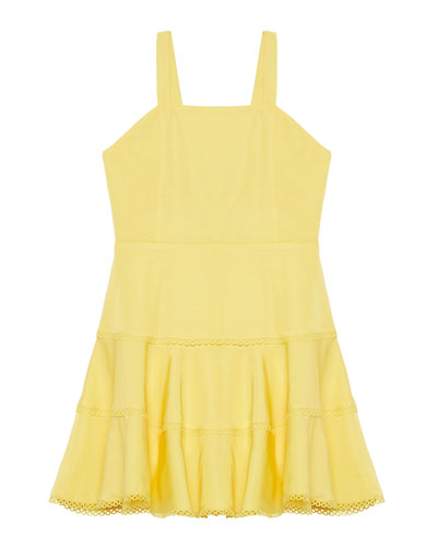 Priano Tiered Sleeveless Dress, Size 8-16