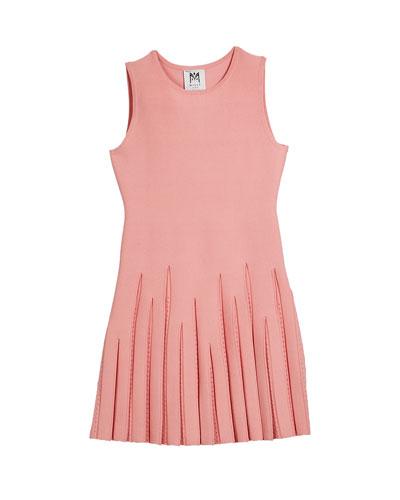 Pointelle Godet Flare Dress, Size 74-6