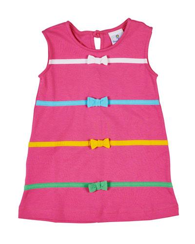 d35c1aa3686d Front Bow Sleeveless Dress
