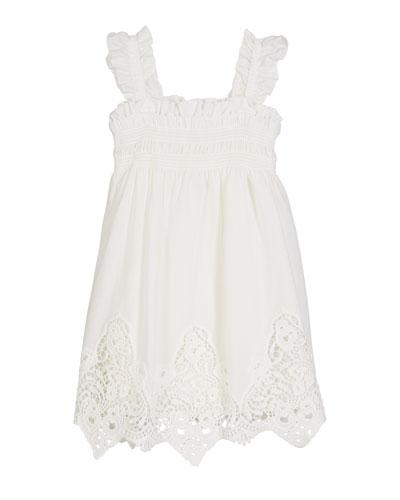 Battenberg Lace Sun Dress, Size 4-7