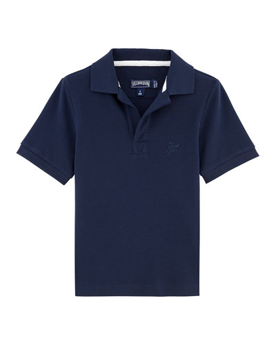 Pantin Short-Sleeve Polo Shirt, Size 2-14