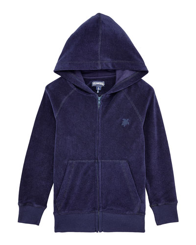 Ryan Terry Cloth Zip-Up Hoodie, Size 2-14