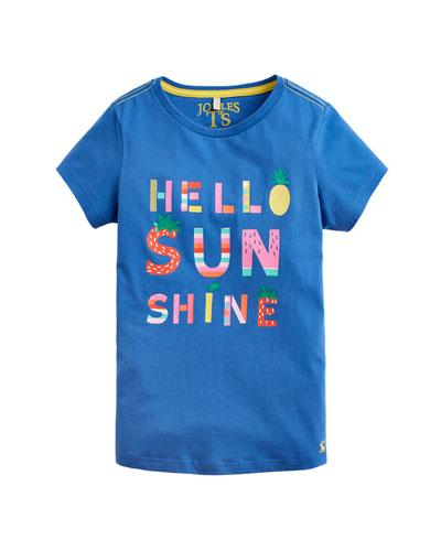 Pixie Hello Sunshine Tee, Size 3-10