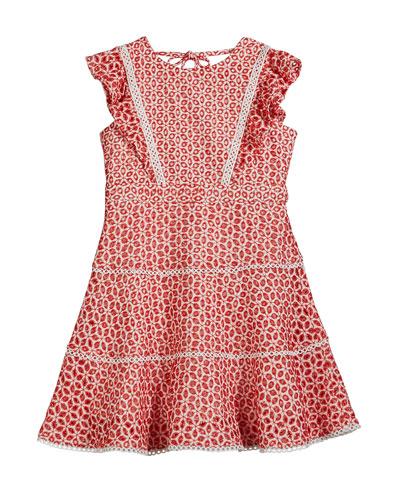 68f47408e4e Girls Eyelet Dress | Neiman Marcus
