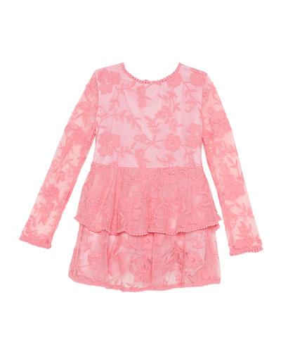 7efef9926b7 Long Sleeve Lace Dress